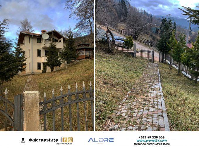 Shitet shtëpija 160m² me 6 ari truall në Boge të Rugovës